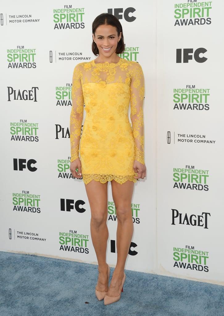 Paula Patton at the 2014 Spirit Awards