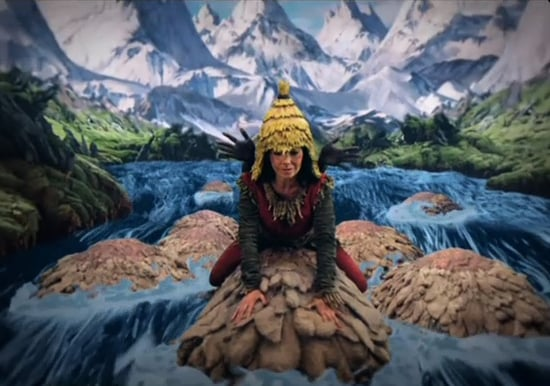 Björk's New Music Video For Wanderlust Premieres in 3-D on Wired.com