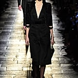 It Was Serious Business at Bottega Veneta as Kendall Walked Down the Catwalk
