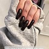 Khloe Kardashian Dark Nail Polish Color