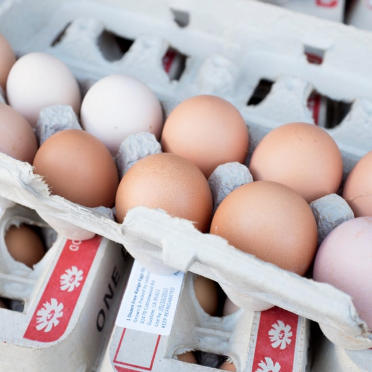 Egg Carton Labels POPSUGAR Food