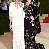 "Bee wore Alexander McQueen to the 2016 Met Gala. The theme that year was ""Manus x Machina: Fashion In An Age Of Technology."""