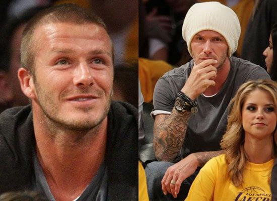 29/10/2008 David Beckham