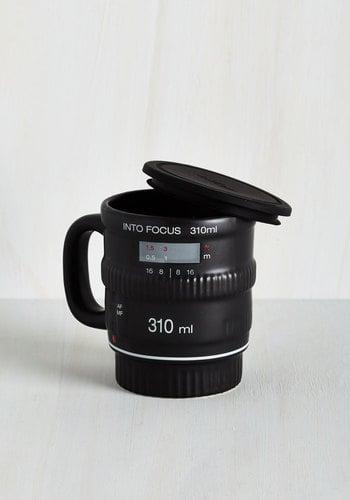 Camera Lens Mug ($18)