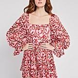 Alice + Olivia Debra Floral Tunic Dress