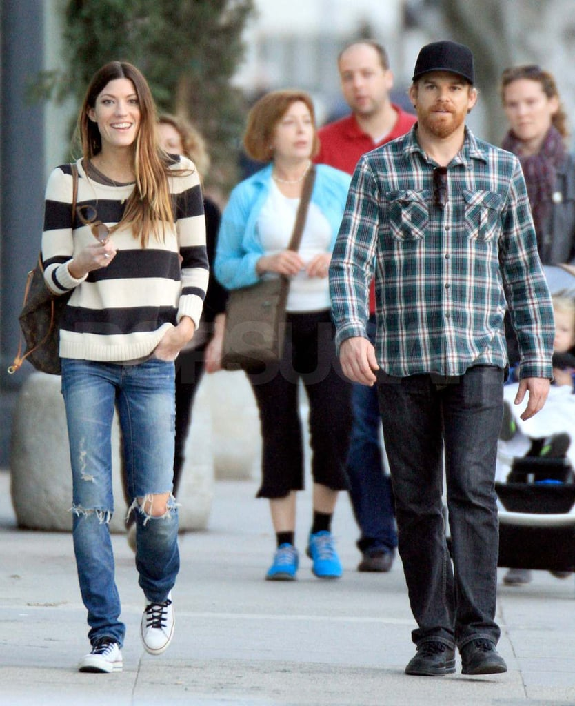 Michael C Hall And Jennifer Carpenter 2012