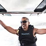 Barack Obama on Holiday