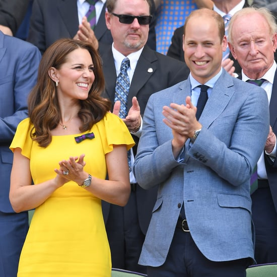 Prince William and Kate Middleton at Wimbledon Pictures