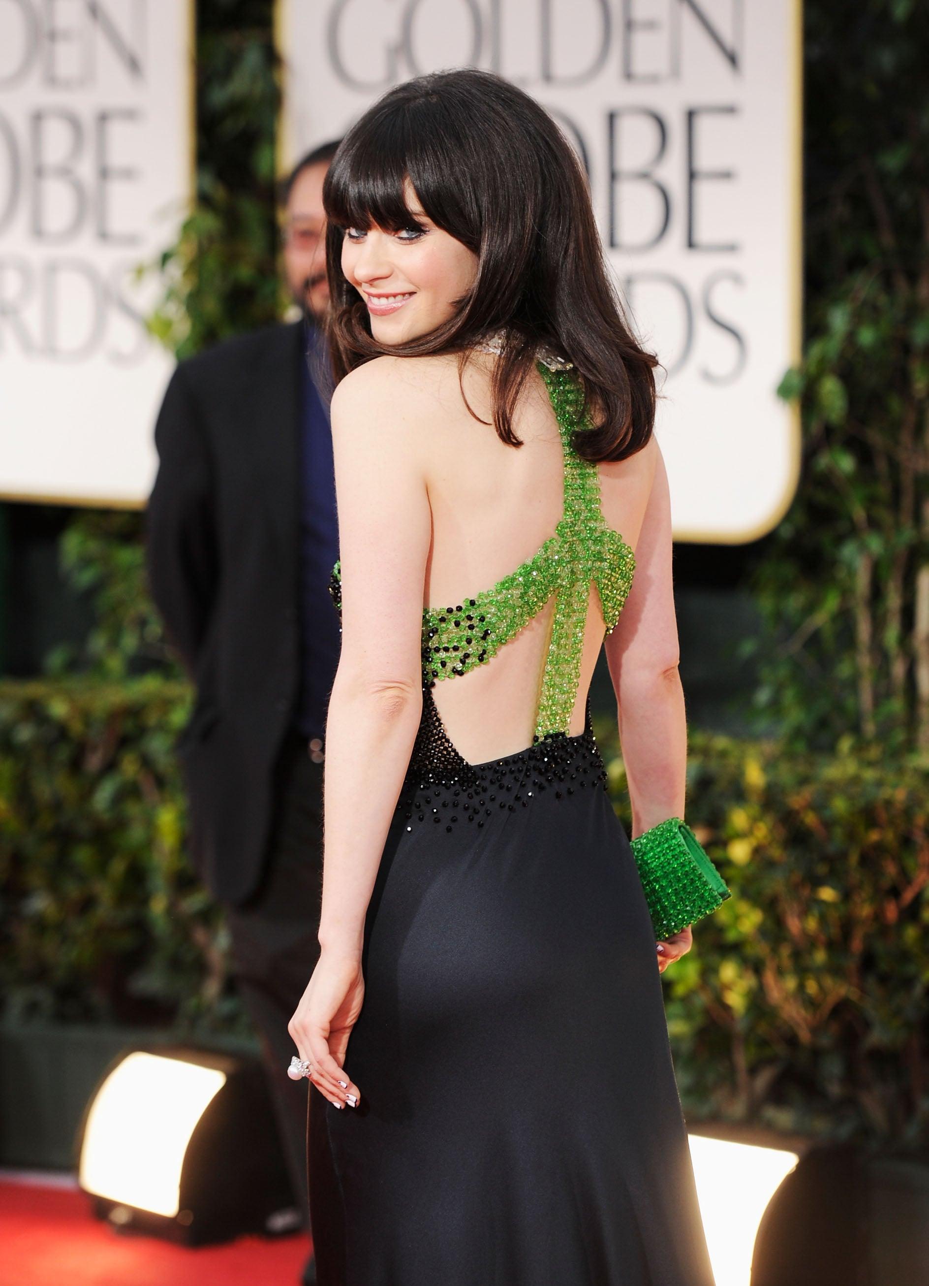 Golden Globes 2012 Red Carpet Dress Pictures Popsugar