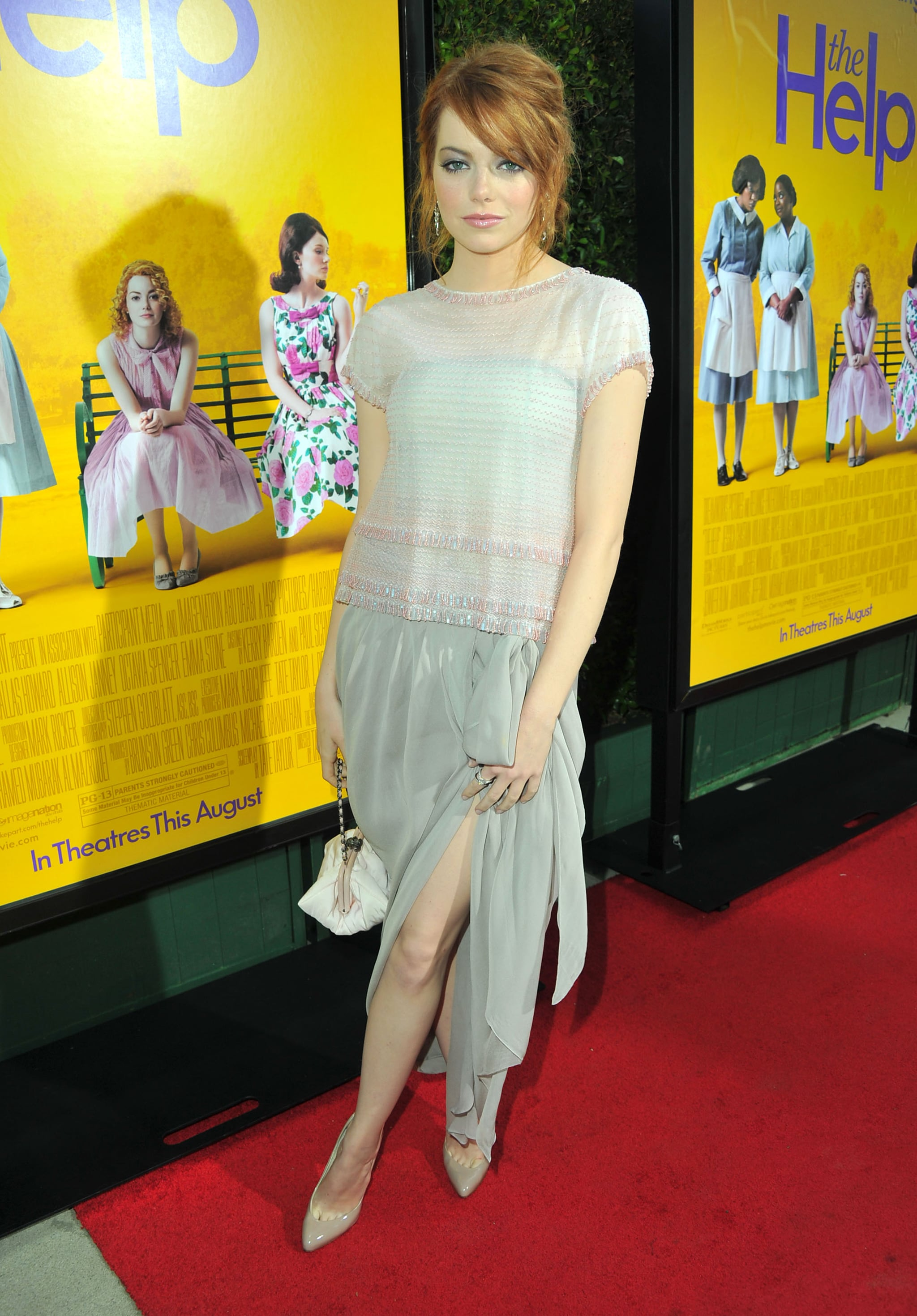 1St Choice Auto >> Catch Emma Stone In All Her Girly Glory At The Help's LA Premiere! | POPSUGAR Celebrity Australia