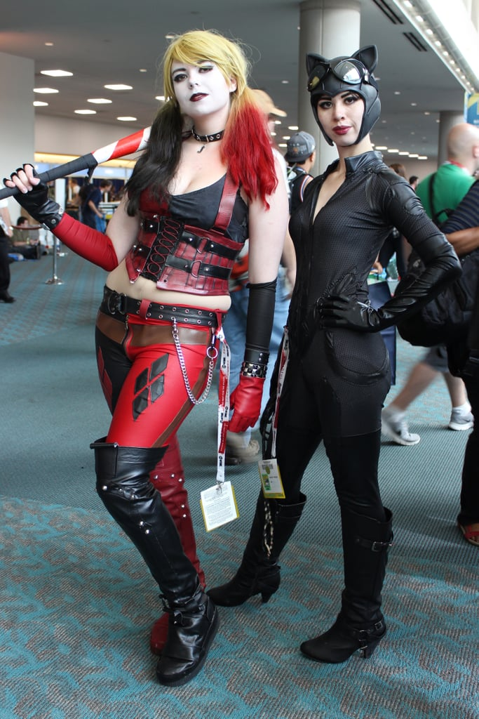 Harley Quinn and Catwoman