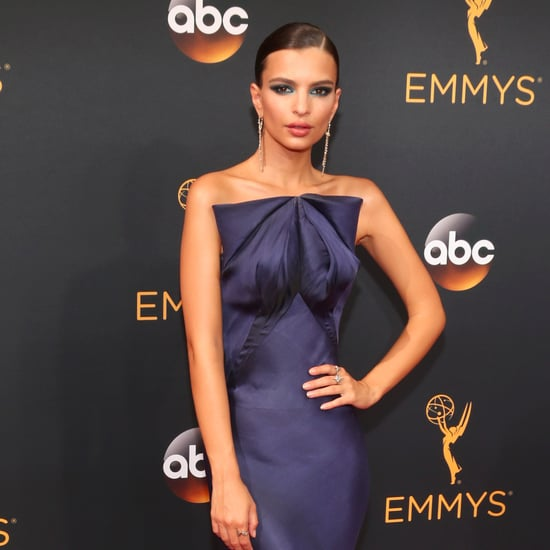 Emily Ratajkowski's Zac Posen Dress at the Emmys 2016