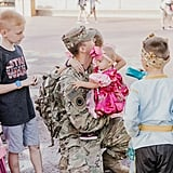 Photos of Military Dad Surprising His Family at Disney World