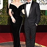 Lady Gaga and Taylor Kinney Look Like Old Hollywood Royalty on the Red Carpet