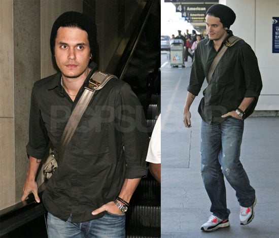 John Mayer at LAX
