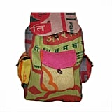 Handcrafted Recycled Jute Backpack ($37)