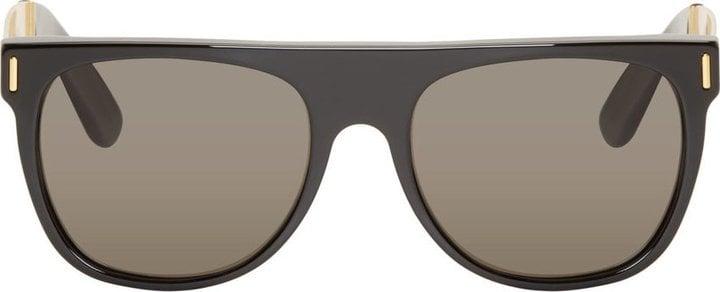 Super Black Flat Top Sunglasses ($230)