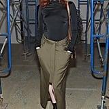 Karen Elson at the Proenza Schouler New York Fashion Week Show