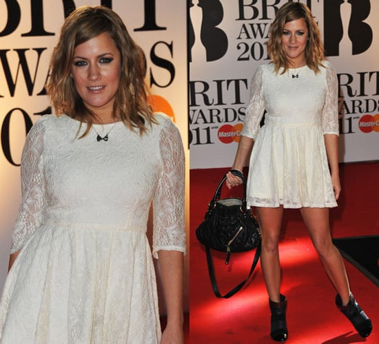 Photos of Caroline Flack at the 2011 Brit Awards