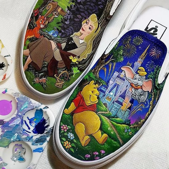 Painted Disney Shoes