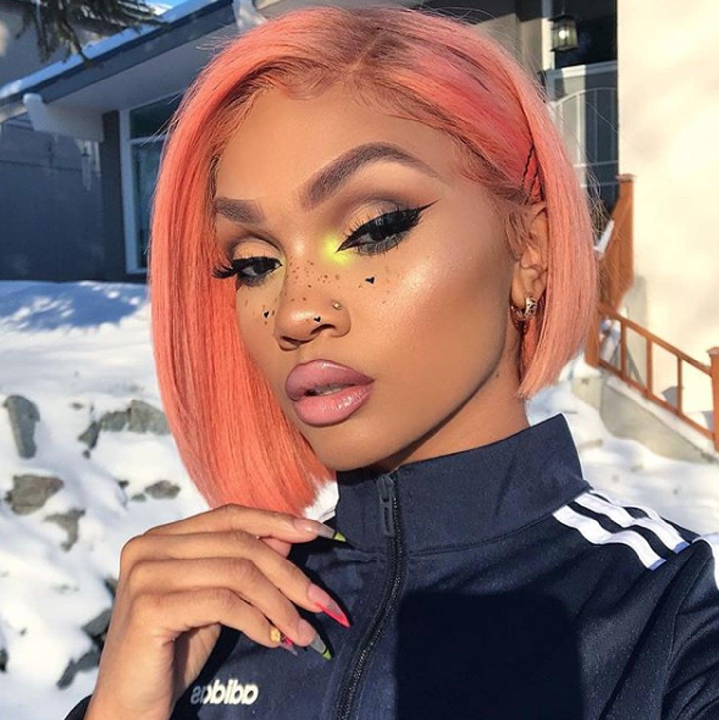 Coral Hair Colour 2019 | POPSUGAR Beauty UK