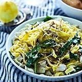 Lemon and Leftover-Turkey Tagliatelle