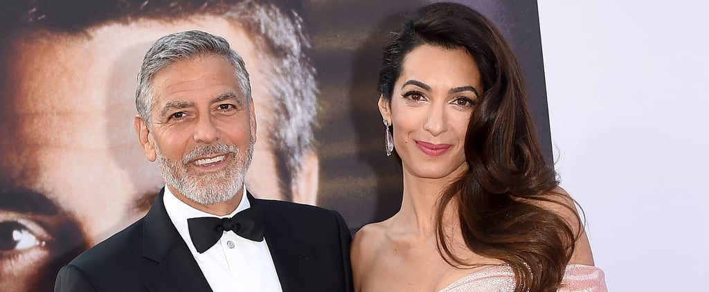 George and Amal Clooney Donate to Help Migrant Children