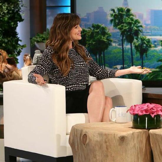 Jennifer Garner Ben Affleck Gone Girl Nudity On Ellen Show