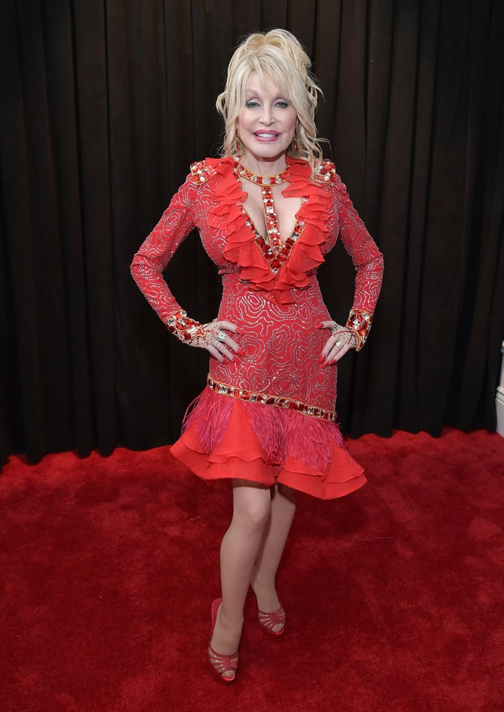 Dolly Parton at the 2019 Grammy Awards