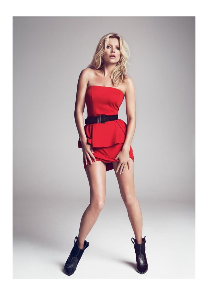 Kate vamps it up for Mango Fall '12.