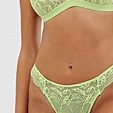 ASOS DESIGN Ella Mix & Match Lace Thong