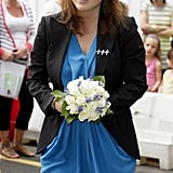 Princess Eugenie attended the the opening of the Teenage Cancer Trust Unit in 2010.