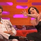 Anne Hathaway is a Huge Matthew McConaughey Fan