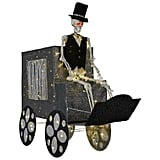LED Haunted Carriage and Skeleton ($129)