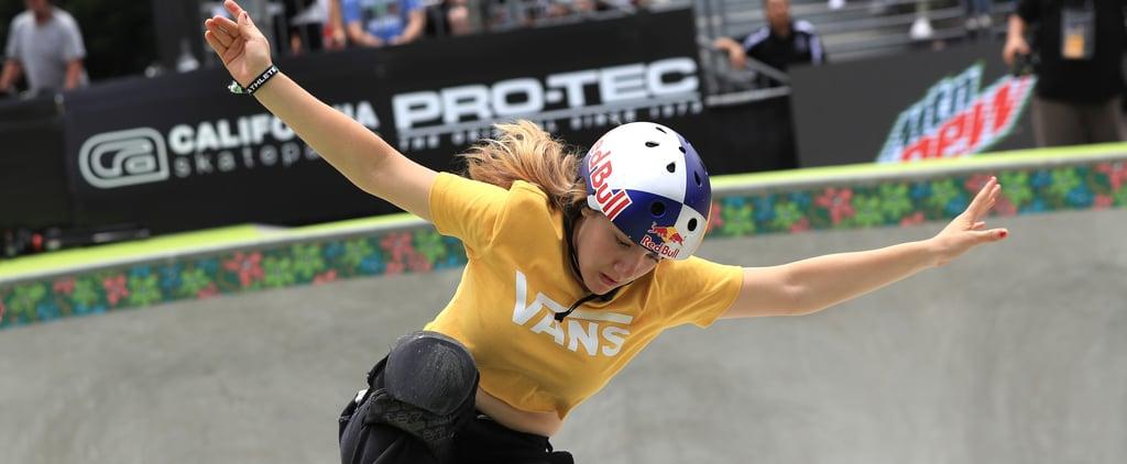 Skateboarder Brighton Zeuner Talks Olympics Postponement