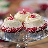 Glamorous Gingerbread Cupcakes For the Holidays