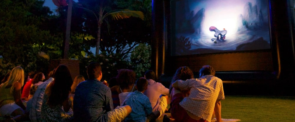 Enjoy Movie Nights Under the Stars