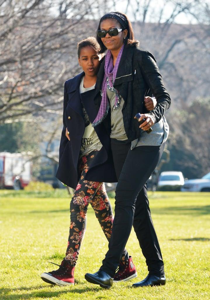 Michelle Obama's Casua...