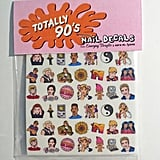 '90s Pop Culture Nail Decals