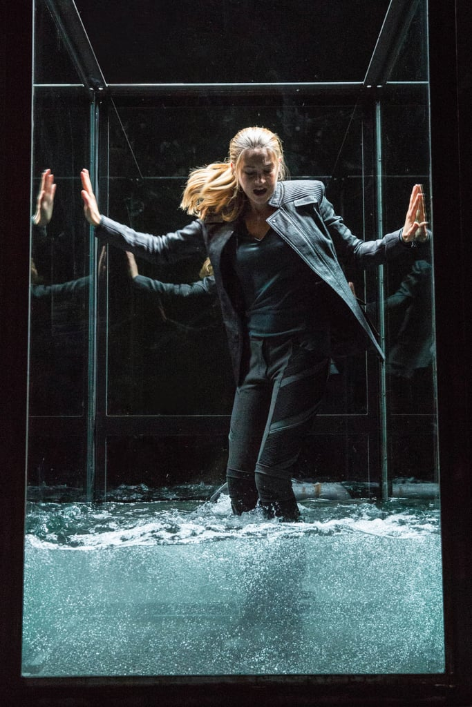 Tris gets trapped in a water tank that may or may not be real.