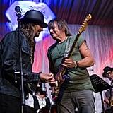 Kid Rock and Richie Sambora performed at the Barnstable Brown gala in 2017.