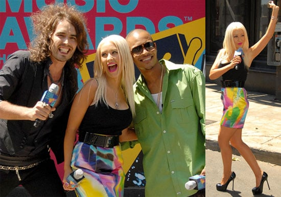 Photos of Russell Brand, Christina Aguilera, TI