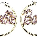Barbie Hoop Earrings