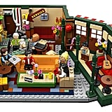 The Full Friends Central Perk Lego Set From Above