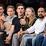 Zac Efron and Halston Sage Have a Sweet Giggle Fest