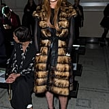 Lindsay Lohan at LFW