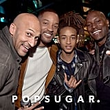 Pictured: Will Smith, Tyrese Gibson, Jaden Smith, and Keegan-Michael Key