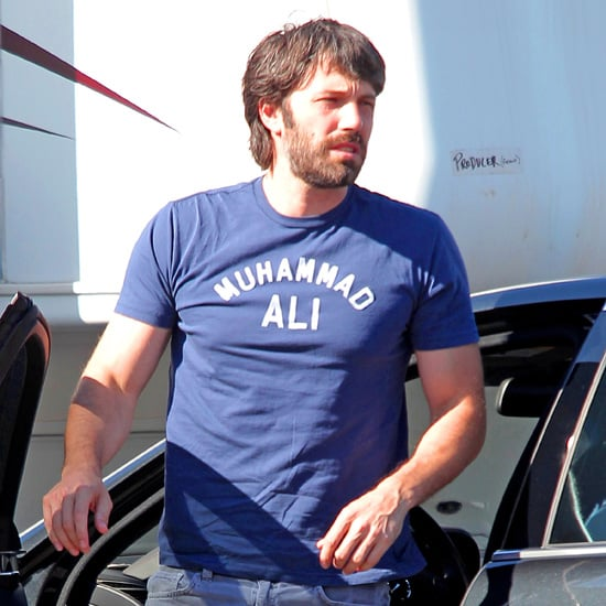 Argo Director Ben Affleck Arrives at a Studio in LA Pictures