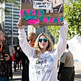 January: She Made Her Voice Heard at the Women's March in LA