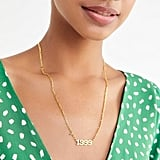 The M Jewelers The Year Nameplate Necklace